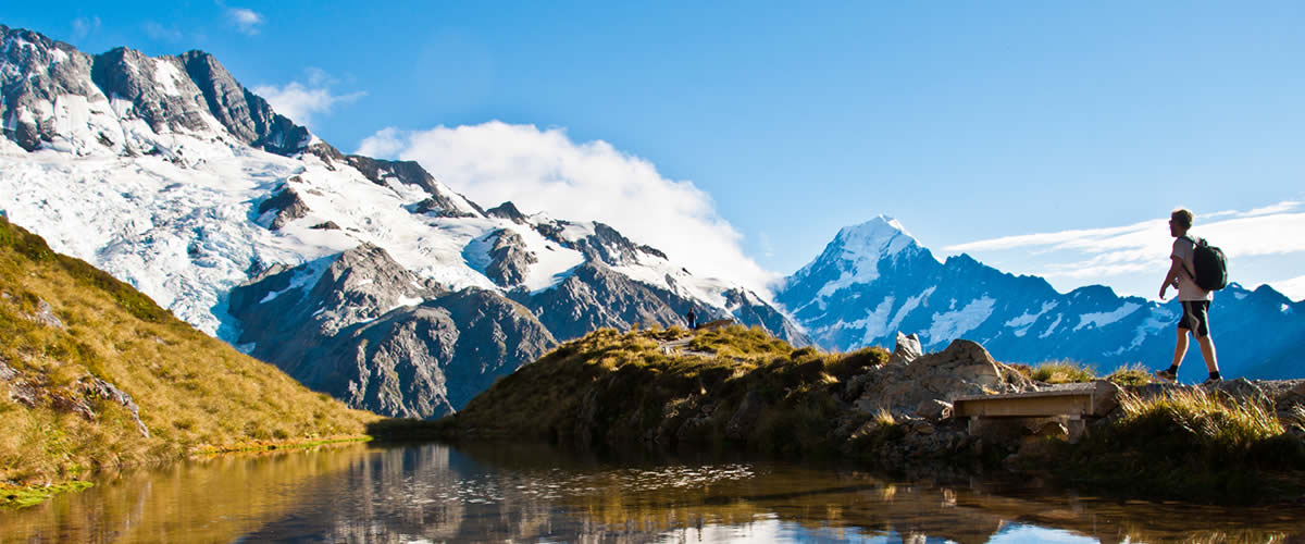 Mount Cook, South Island New Zealand